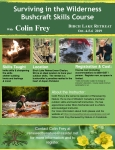 Bushcraft Skills Course - April 24th to 26th, 2020