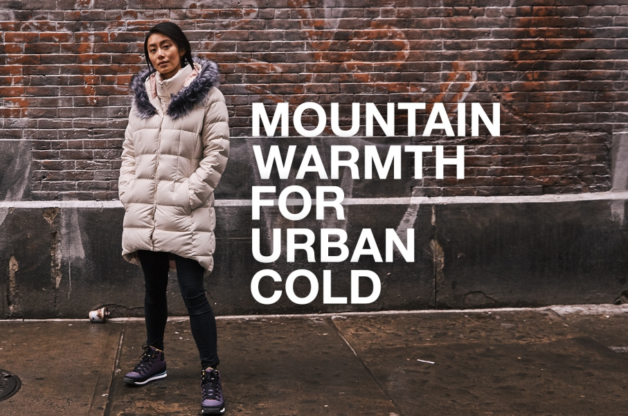 Mountain warmth for Urban Cold